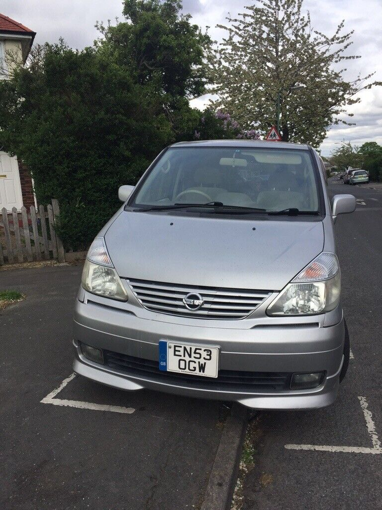 Nissan Serena Import 8 Seater New Tyres And Cd Player Mot Feb