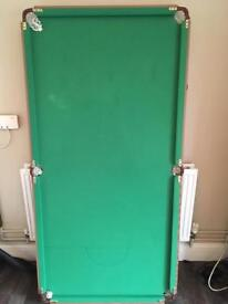 Snooker table 6x3