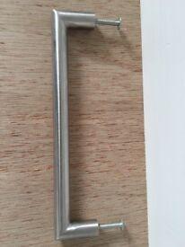 Brushed steel cupboard handles (x30)