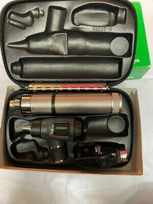 Welch Allyn 97200-mc Diagnostic Set Coaxial Ophthalmoscope Macroview Otoscope