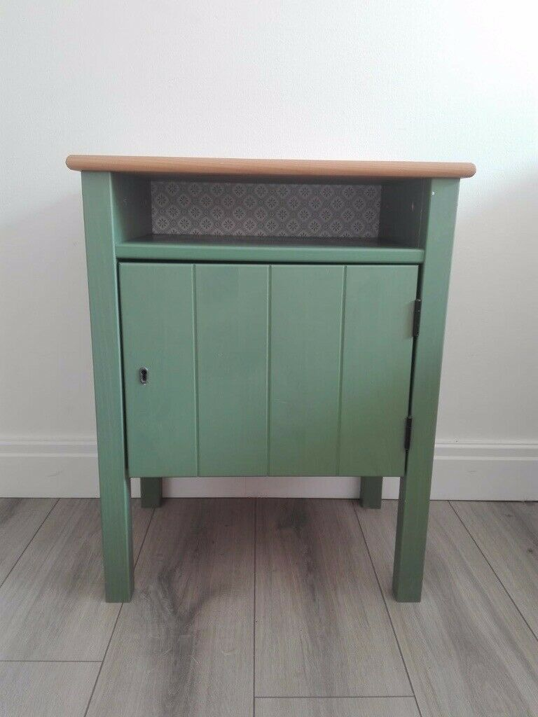 Green Bedside Table From Ikea