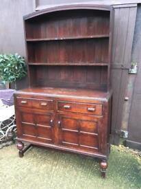 Solid wood vintage Welsh dresser
