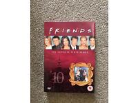 Friends Tenth Series DVDs