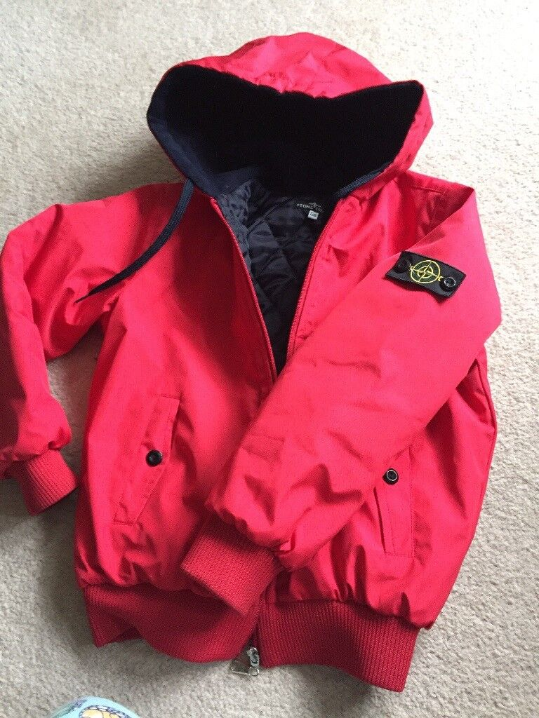 Young Boys Stone Island jacket