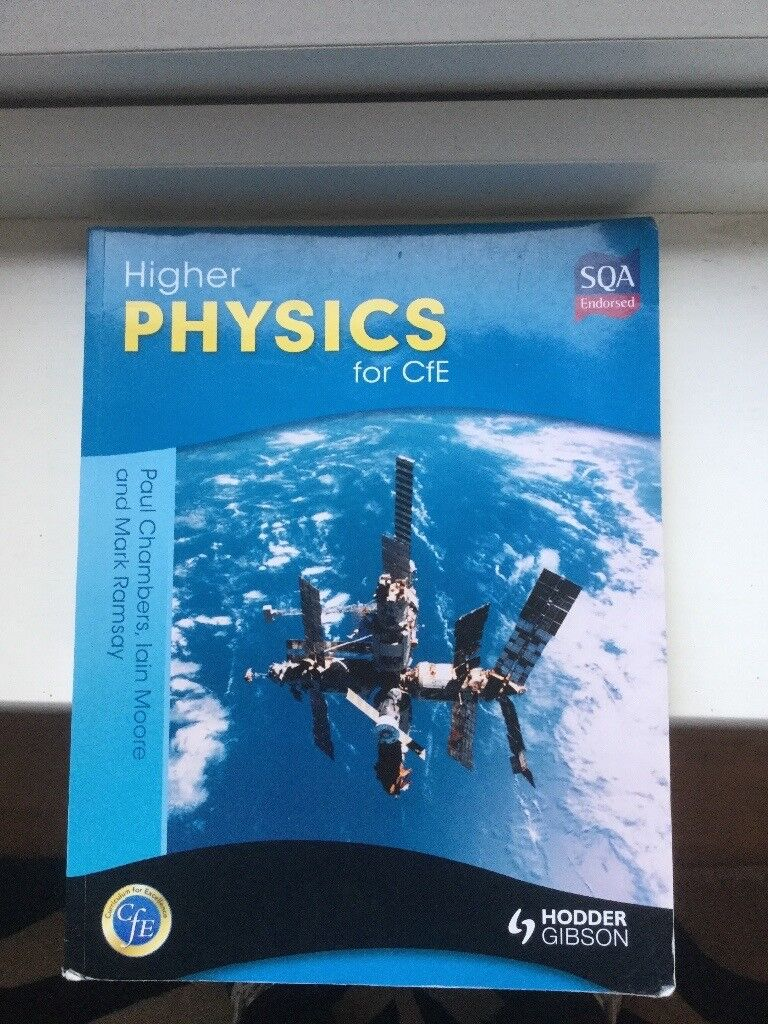 Higher physics additional text book.
