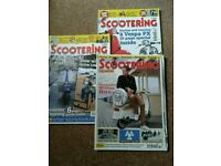Scootering and scooterist mags.