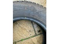 Winter tyres 165/70r14 - Goodyear