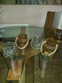 3 pairs of tealight holders