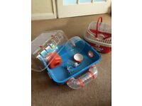 Hamster cage and carry case!!! Have 2 of each available as had to seperate hamsters. Great condition