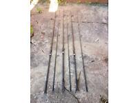 3 greys prodigy + 3.5 lb tc carp rods rods