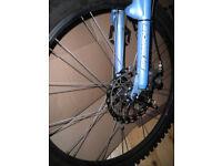 mountain bike size 16