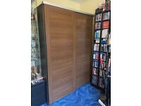 Ikea Double Elga Wardrobe with sliding doors