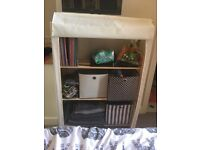 Canvas storage unit