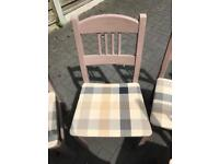 6 x dining table chairs