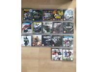 PS3 with 17 games !!!