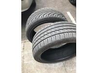 Tyres 225/40/18