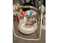 Bright starts comfort and harmony baby swing