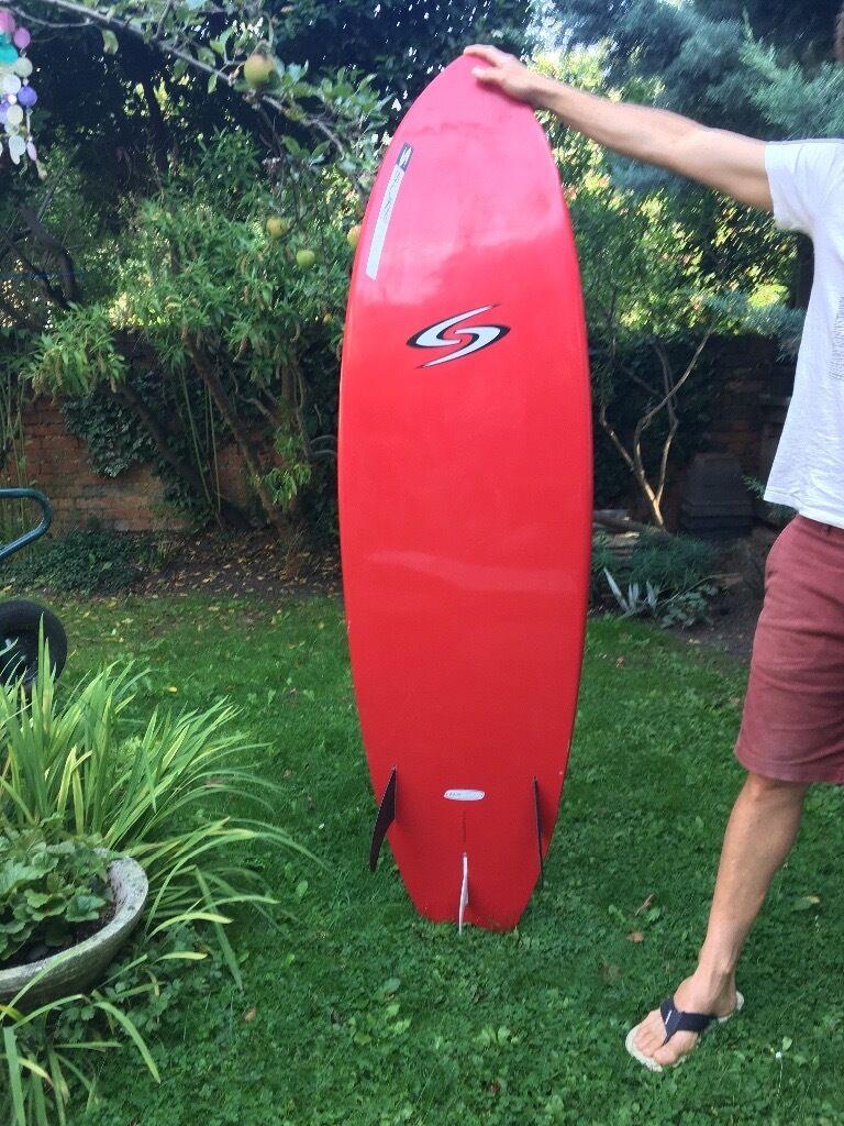 "** SOLD ** Surftech 5'11"" surfboard + set of Future fins"