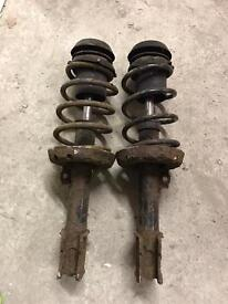 Astra G 1.8 SRI front springs and shocks
