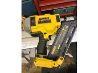 Dewalt nail gun with service records