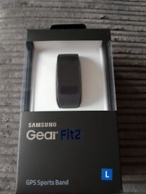 New Samsung gear fit 2