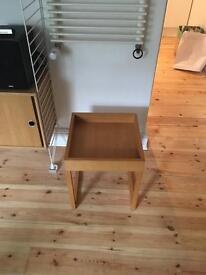 Modernist style bedside/side table