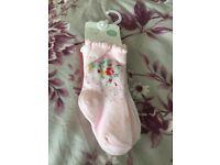 Newborn baby girls socks