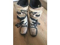 Motocross boots size 11