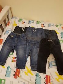 Bundle of boys clothes age 9-12 mths and 12-18mths