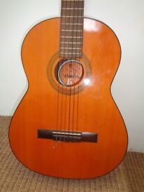Almeria BM Spanish Guitar - Full Size with Carry Case