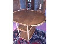 Ercol DiningTrolley with drop leaf extension