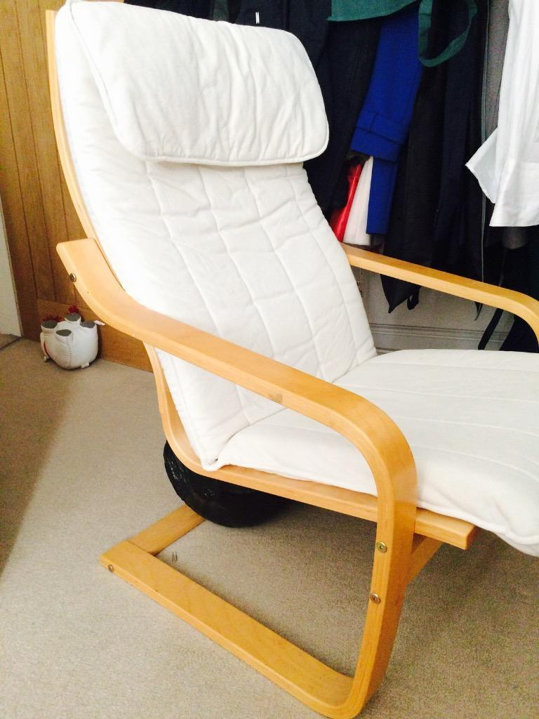 Ikea Aspelund Bedroom Furniture ~ IKEA poang chair with 2 covers  in Farnham, Surrey  Gumtree