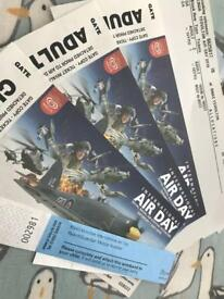 Tickets to yeovil air show tomorrow