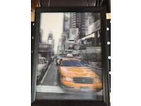 NEW YORK 3D TAXI PICTURE