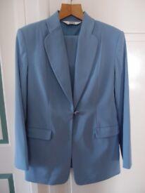 """""""Todays Woman"""" Blue Trouser Suit"""