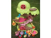 HAPPYLAND MUSICAL FAIRY TREE HOUSE + FAIRY FIGURES