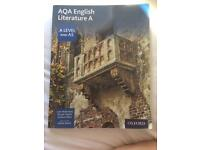 AQA English Literature A Level textbook