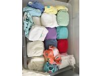 Full set of reusable nappies (Charlie Banana and Bamboozle) plus liners, wash sacks and more