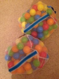 Balls for ball-pit 2x bags