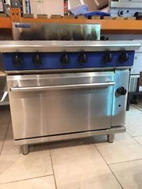 Cooker 6 Burner Blue Seal Commercial