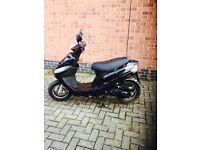 Black moped £450