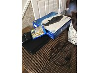 PS4 slimline boxed with Fifa 17
