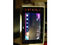 pioneer double din dvd player bluethooth hands free