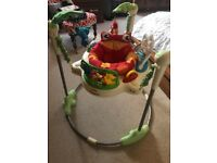 Fisher Price Rainforest Jungle Jumperoo Baby Bouncer - Good Condition