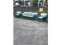 Beautiful OLD THREE SEATER /ARM CHAIRS