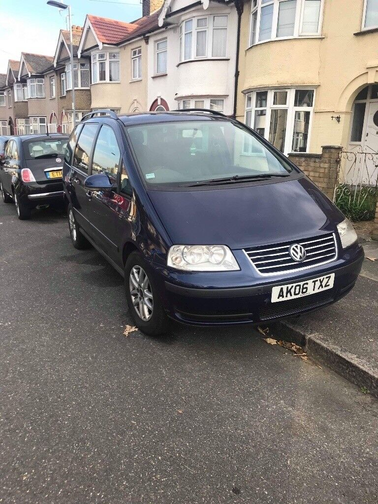 Vw sharan 1.9 tdi 2006. 6 speed manual. 7 seater