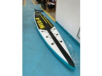 Brand new Standup paddle board set, with composite paddle, bag etc. Plus double action pump