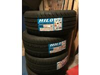 Tyres 225/40/18 brand new