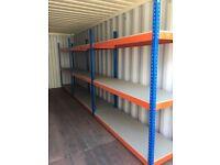 JOB LOT Rapid 1 industrial long span shelving 2.1m high ( pallet racking , storage )