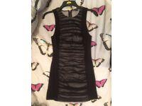 Armani Dress - Ladies Little Black Dress - Party Armani Dress Size 8-10